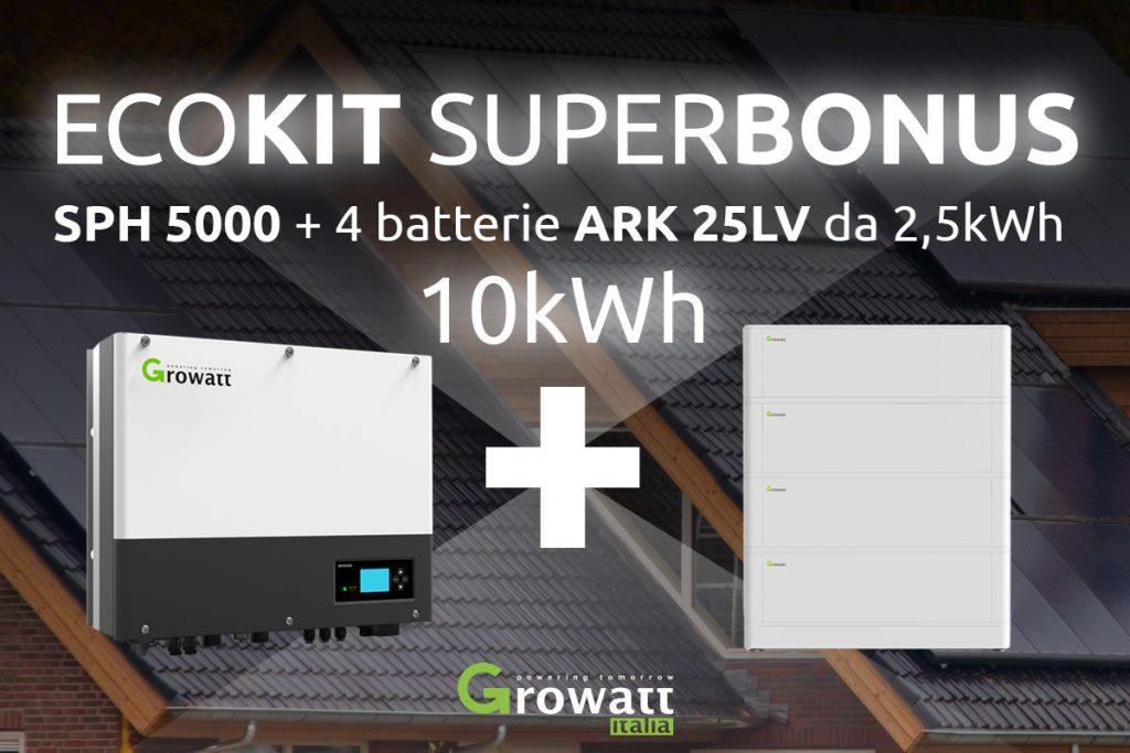 10-kW-ECOKIT-SUPERBONUS-inverter-e-strorage-Growatt